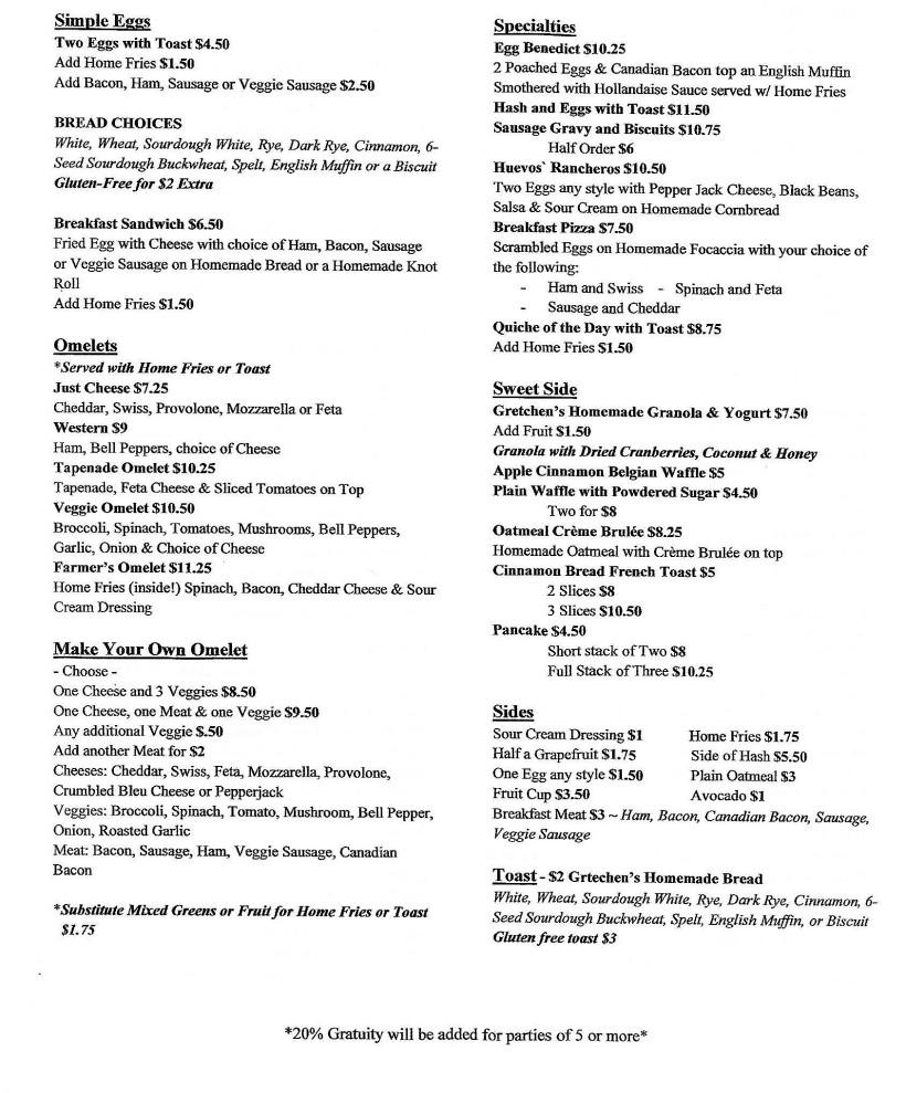 baked menu 1